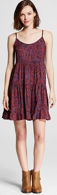 Target Women's Tiered Babydoll Dress - Mossimo Supply Co.