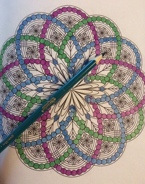 Flower Mandala Coloring Book For Adults