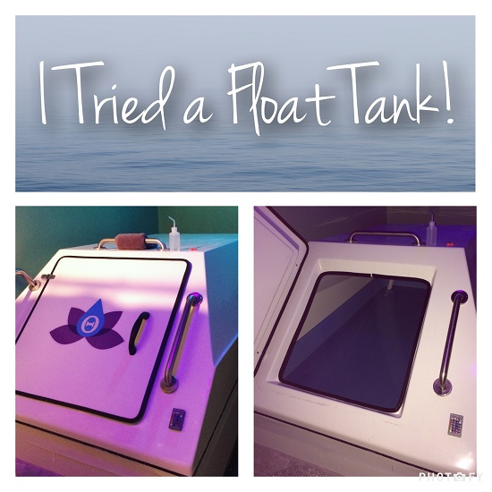 Theta float spa float tank