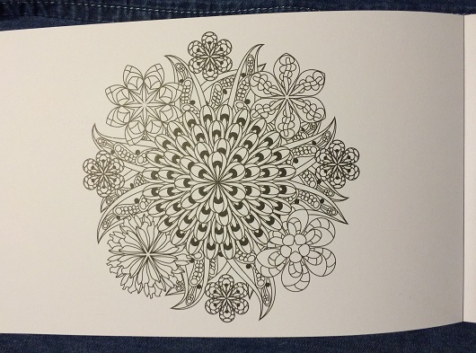 flower postcards to color