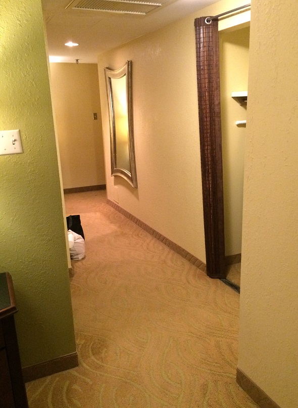 Hotel Highland in Birmingham Alabama suite hallway