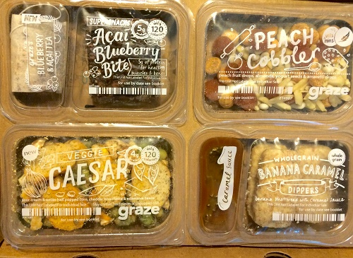 Graze subscription box healthy snacks