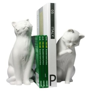 cat-bookends