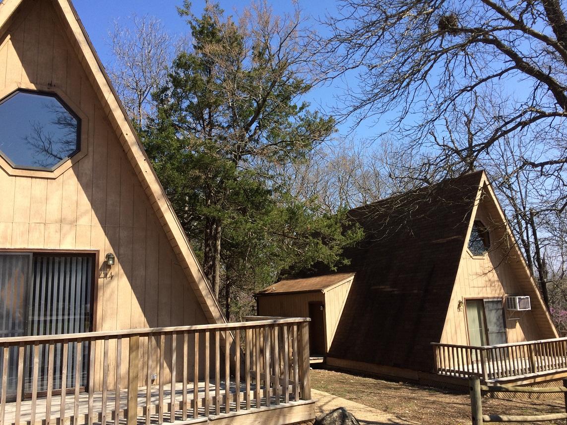 Branson lake cabins a-frame