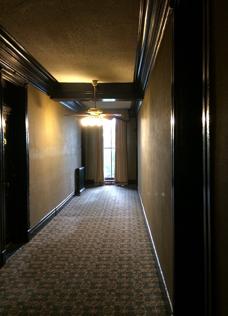 Crescent Hotel Hallway Eureka Springs Ghost Tour