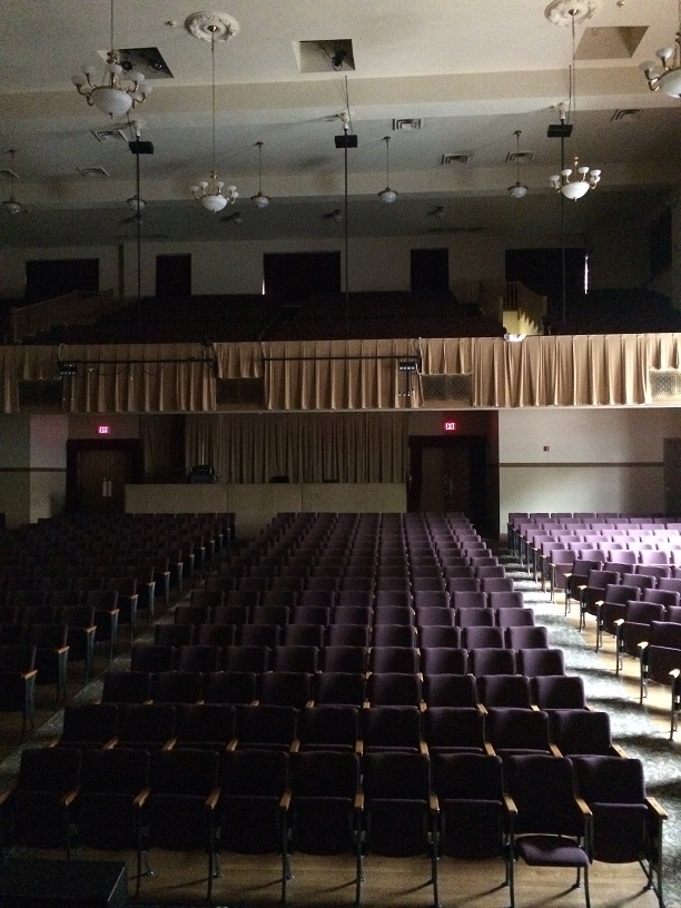Eureka Springs auditorium