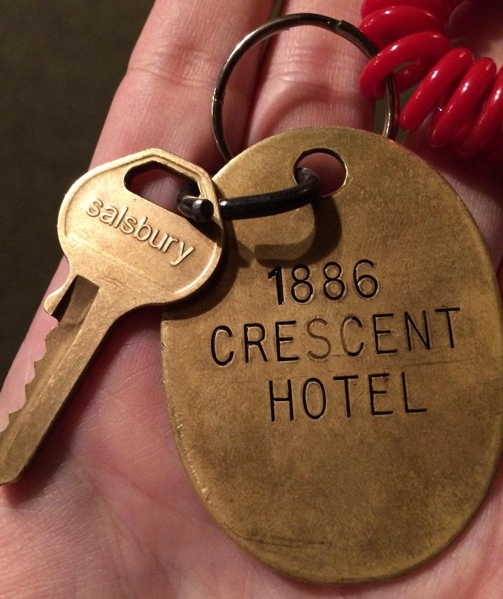 1886 Crescent Hotel Eureka Springs spa key