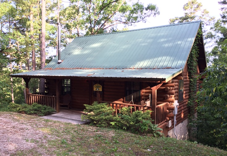 log cabin rentals eureka springs