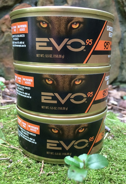 Chewy EVO 95 Grain Free Chicken & Turkey Recipe in Gravy Canned Cat Food
