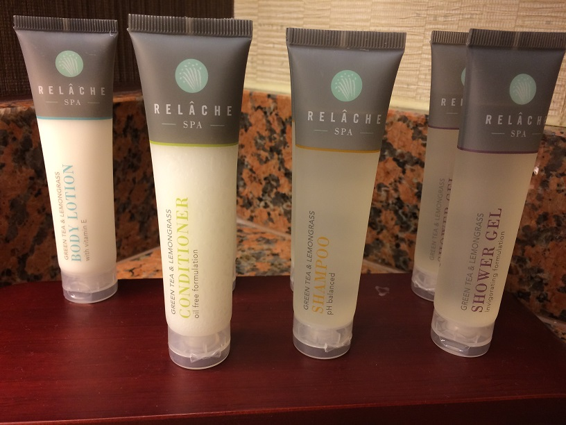 Gilchrist & Soames bath products at Gaylord Texan
