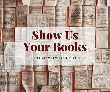 Show Us Your Books link-up February book reviews
