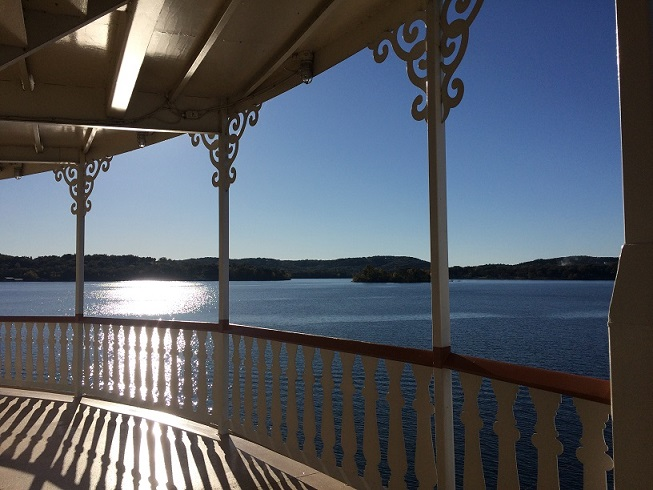 Showboat Branson Belle deck
