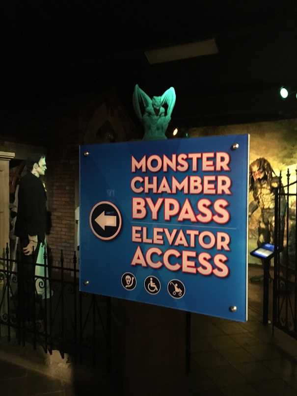 Branson Hollywood Wax Museum monster chamber