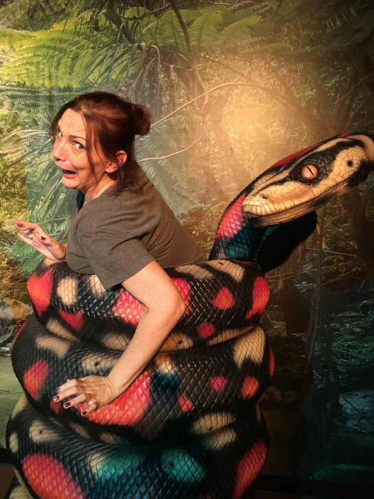 Branson wax museum Missouri snake