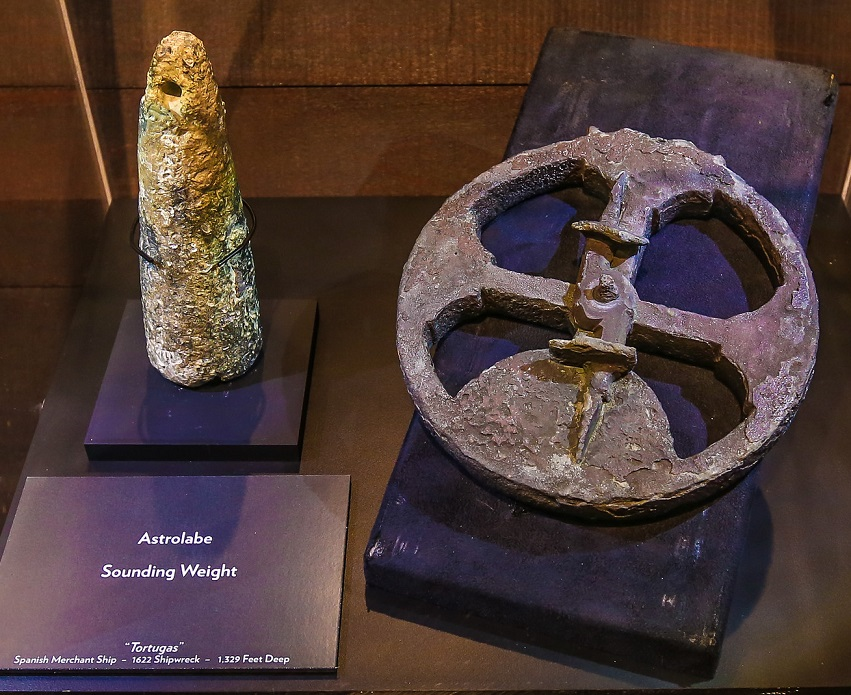 Astrolabe from Tortugas shipwreck