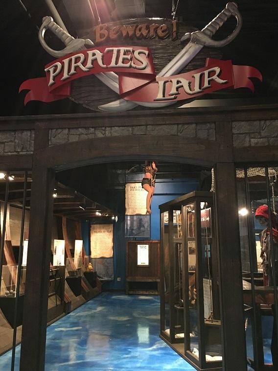 pirate museum exhibit branson mo