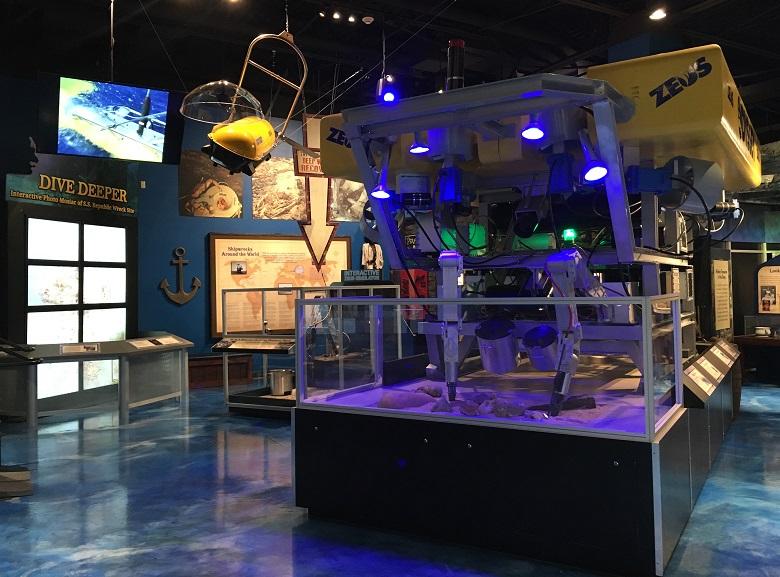 Zeus ROV replica